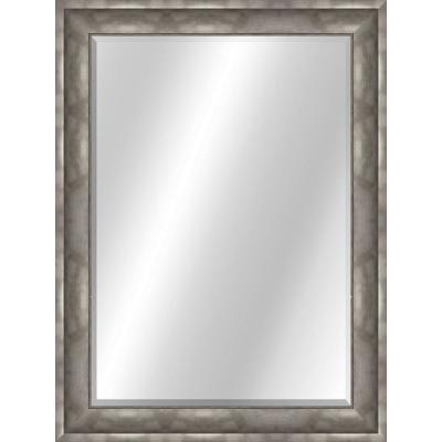 Curved 22 x 28 Value Core Pewter Framed Vanity Mirror