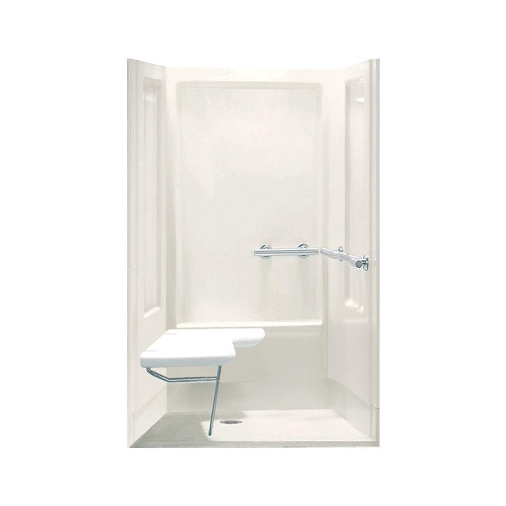 STERLING Transfer Shower 39-3/8 in. x 39-3/8 in. x 73-9/16 in ...