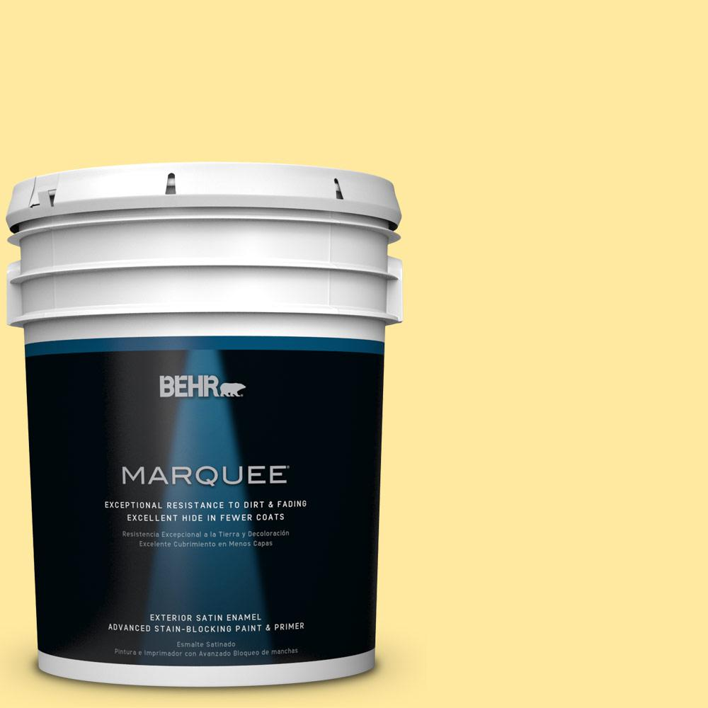 5-gal. #P300-4 Rise and Shine Satin Enamel Exterior Paint