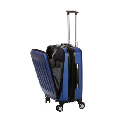 Rockland Expandable Titan 19 in. Hardside Spinner Laptop Carry-On Suitcase, Blue