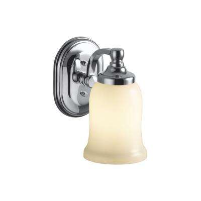 Bancroft 1-Light Polished Chrome LED Wall Sconce