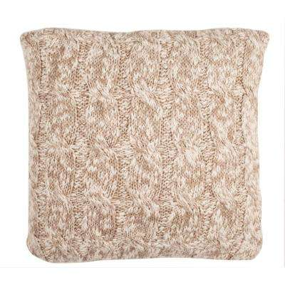 Chunky Knit Printed Patterns Pillow