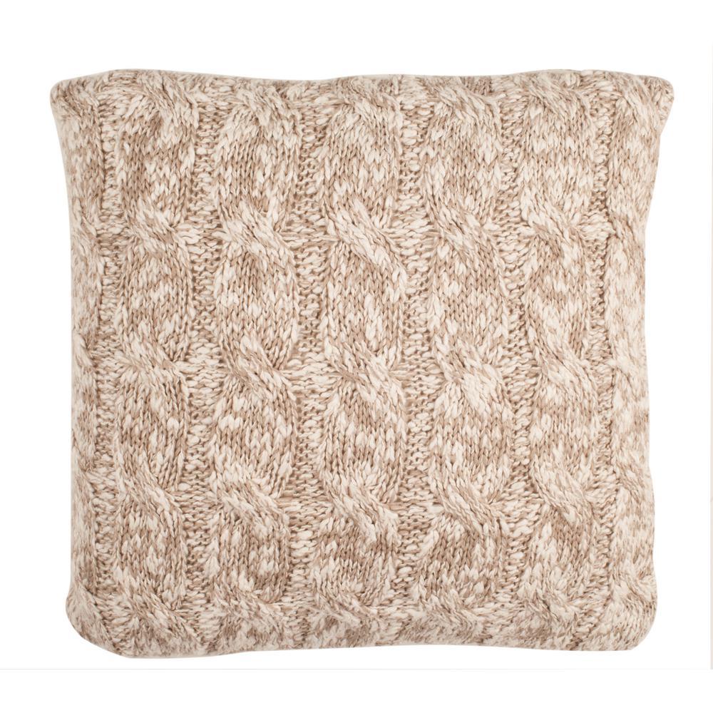 Safavieh Chunky Knit Printed Patterns Pillow PLS184A-2020