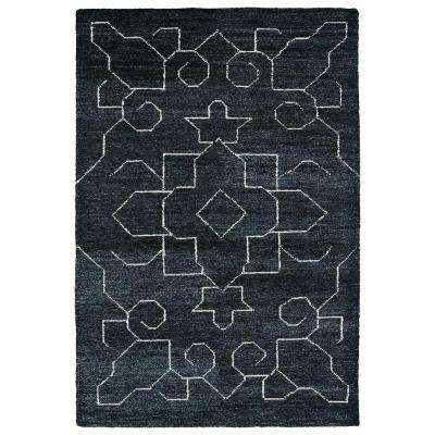 Solitaire Charcoal 8 ft. x 11 ft. Area Rug