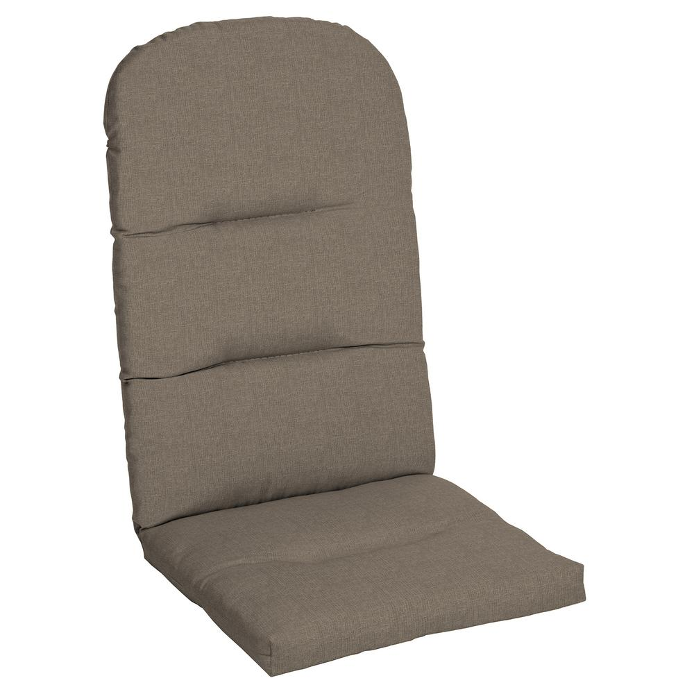 20 5 X 18 Sunbrella Cast Shale Outdoor Adirondack Chair Cushion