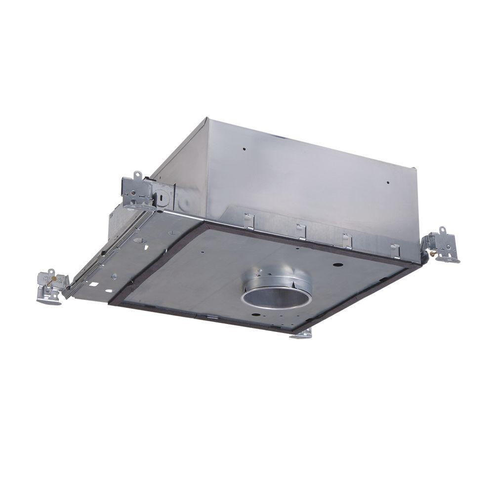 H36 3 in. Aluminum Recessed Lighting Housing for New Construction Shallow
