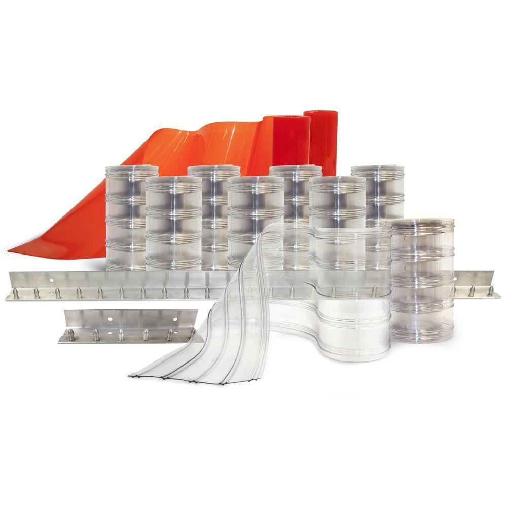 Scratch-Guard 5 ft. x 7 ft. PVC Strip Door Kit