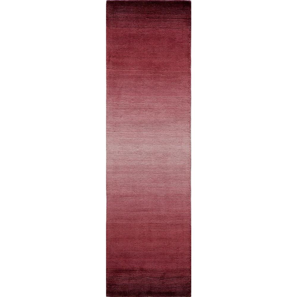 Momeni City Life Collection Plum 2 ft. 3 in. x 8 ft. Indoor Runner