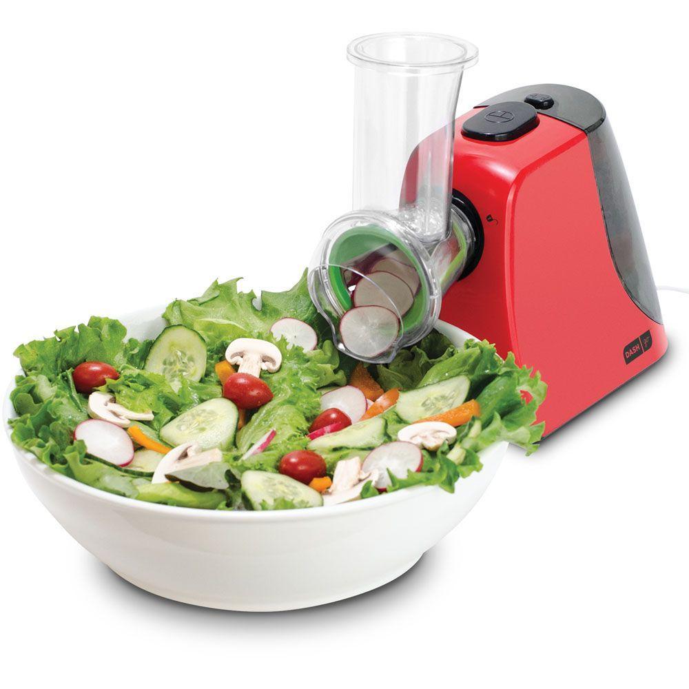StoreBound Dash Electric Food Shredder/Salad Chef in Red