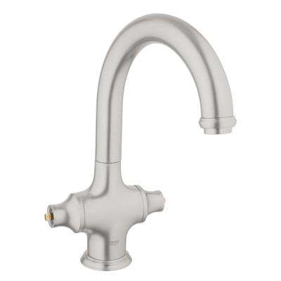 Bridgeford 2-Handle Bar Faucet in SuperSteel Infinity