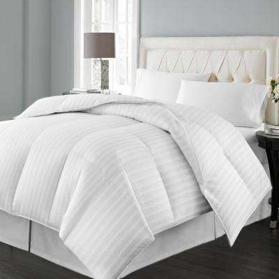 Siberian White Down King Comforter