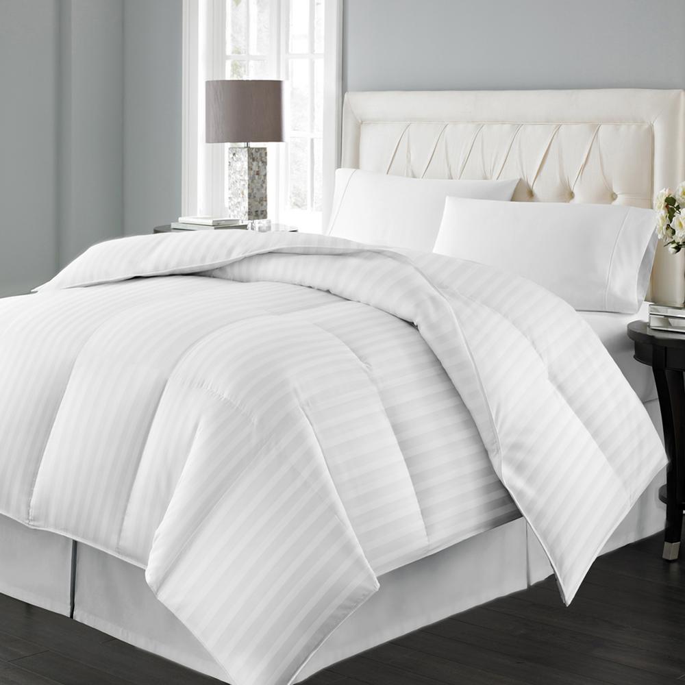 Siberian White Down King Comforter