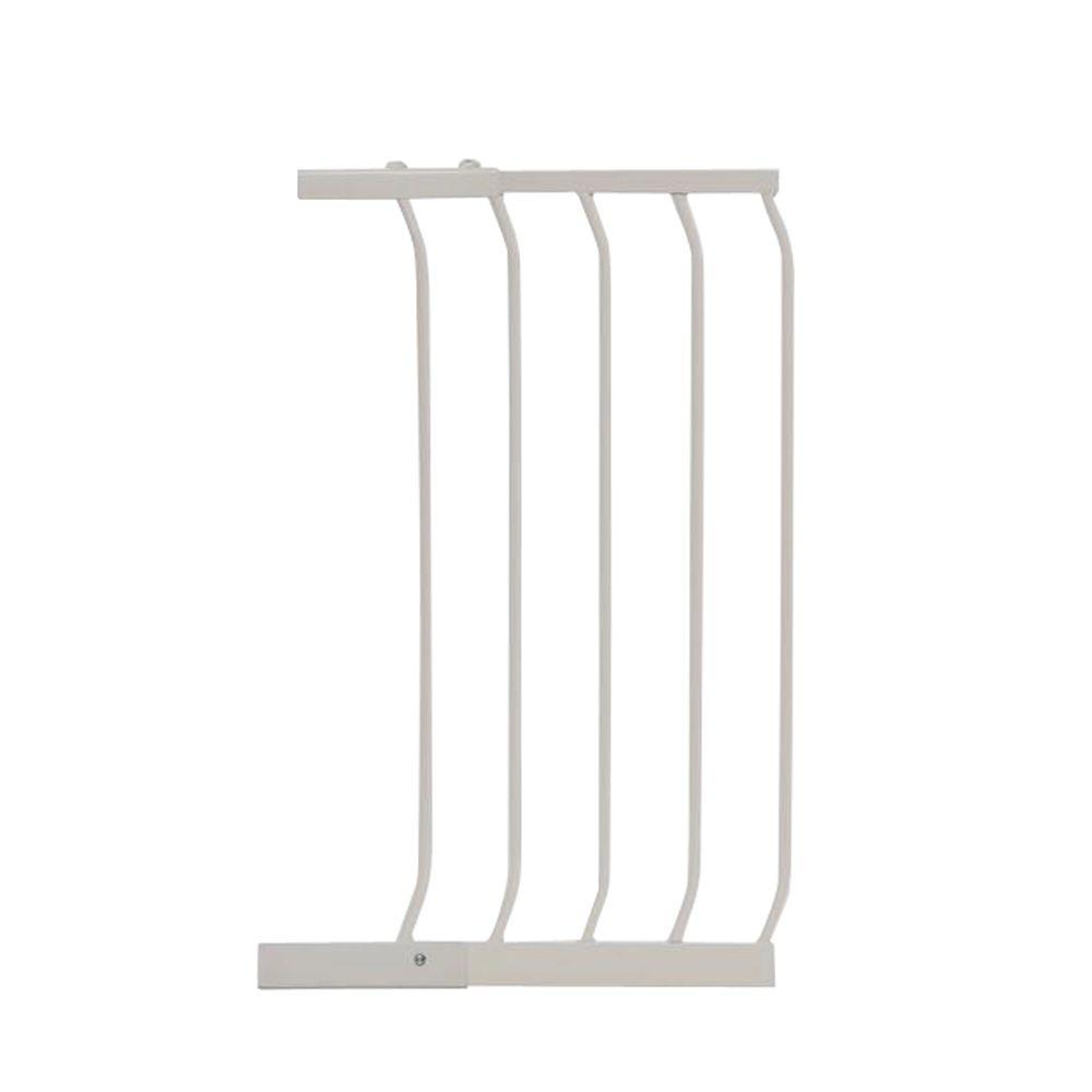 14 in. Gate Extension for White Chelsea Standard Height Child Safety