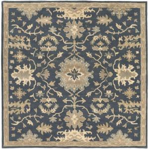 Artistic Weavers Gilgamesh Navy 9 ft. 9 inch x 9 ft. 9 inch Square Indoor Area Rug by Artistic Weavers