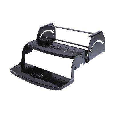 20 in. Double 7.75 in. Rise Manual Coach Steps by Flexco