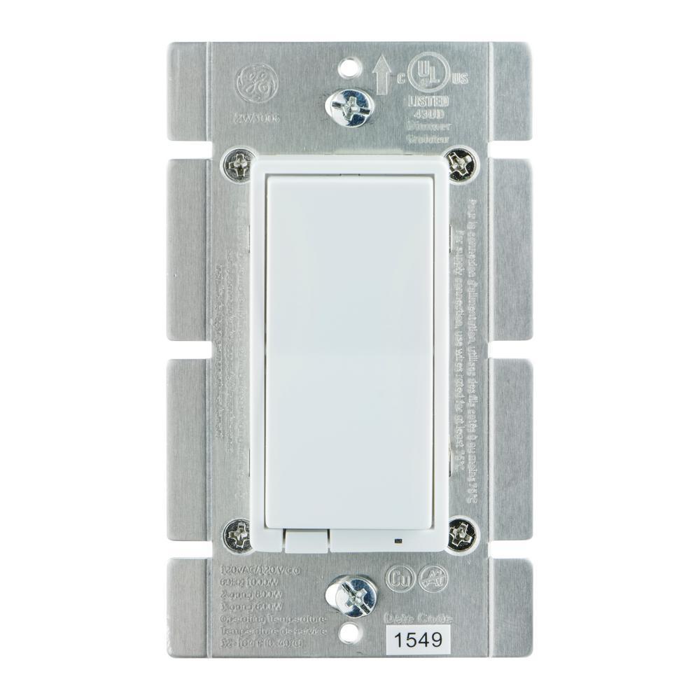 1000-Watt Z-Wave In-Wall Smart Dimmer