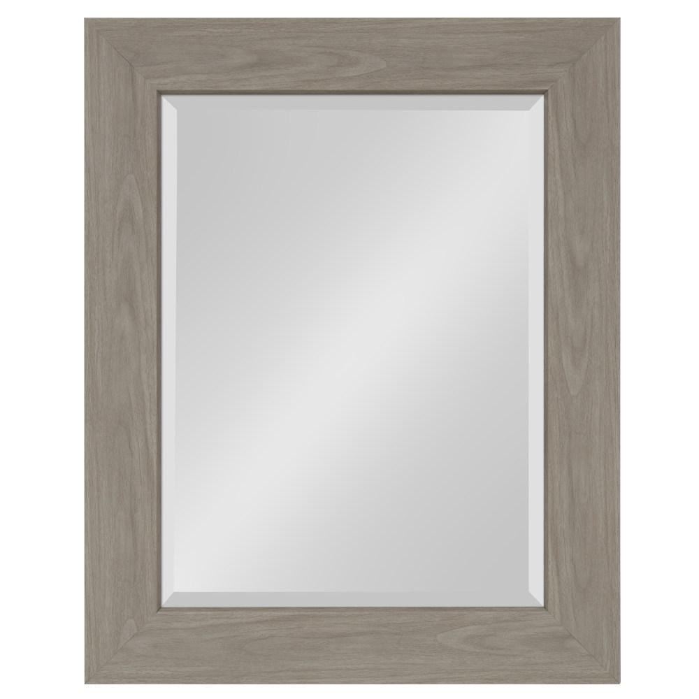 Boardwalk Rectangle Gray Accent Mirror
