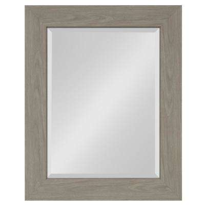 Boardwalk Rectangle Gray Accent Mirror