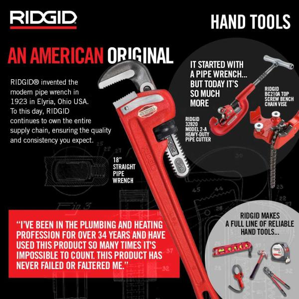 Ridgid 1 8 In To 4 In Model 25a Bench Yoke Vise 40100 The Home Depot