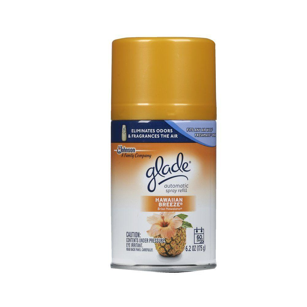 Glade 6 2 oz hawaiian breeze automatic air freshener for What is the best air freshener for your home