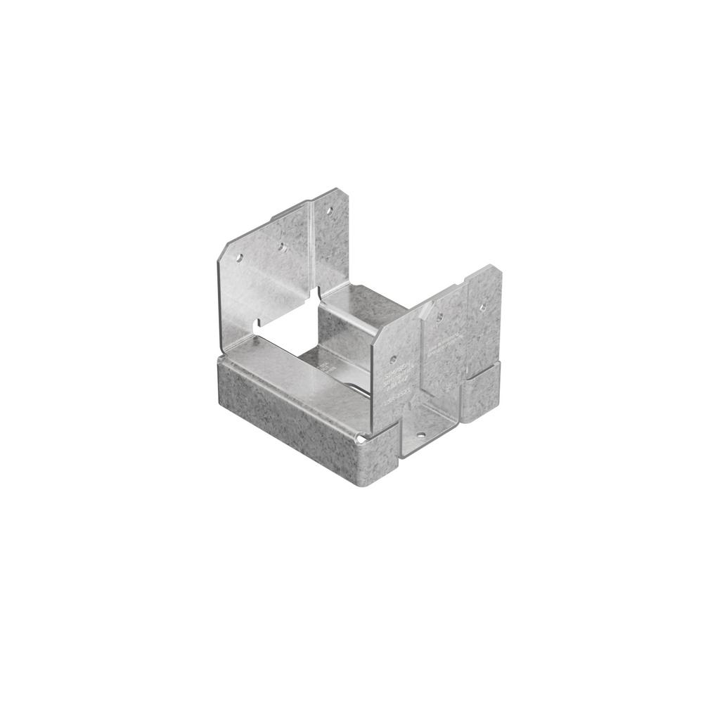 Simpson Strong-Tie ABA ZMAX Galvanized Adjustable Standoff Post Base for 4x4 Nominal Lumber
