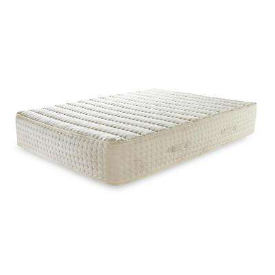 Luxury Bliss Queen 12 in. Medium-Firm Natural Latex Encased Coil Mattress