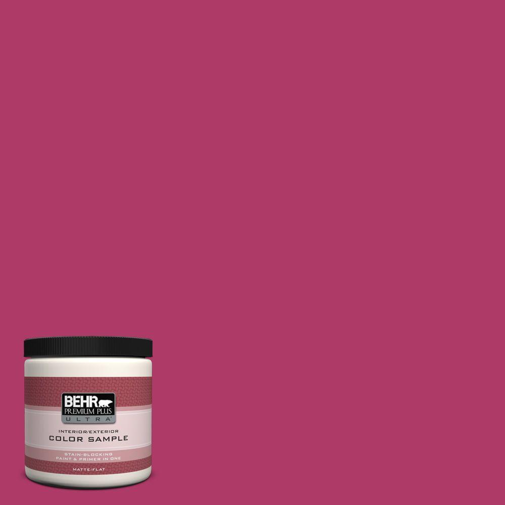 8 oz. #HDC-SM16-04 Bing Cherry Pie Interior/Exterior Paint Sample