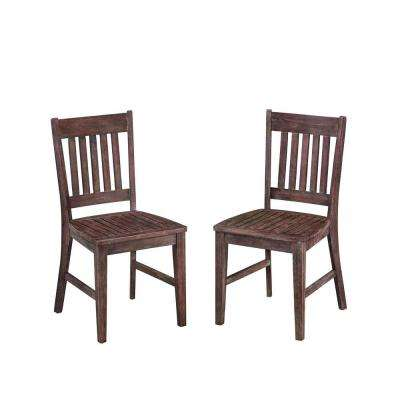 Morocco Acacia Wood Patio Dining Chair
