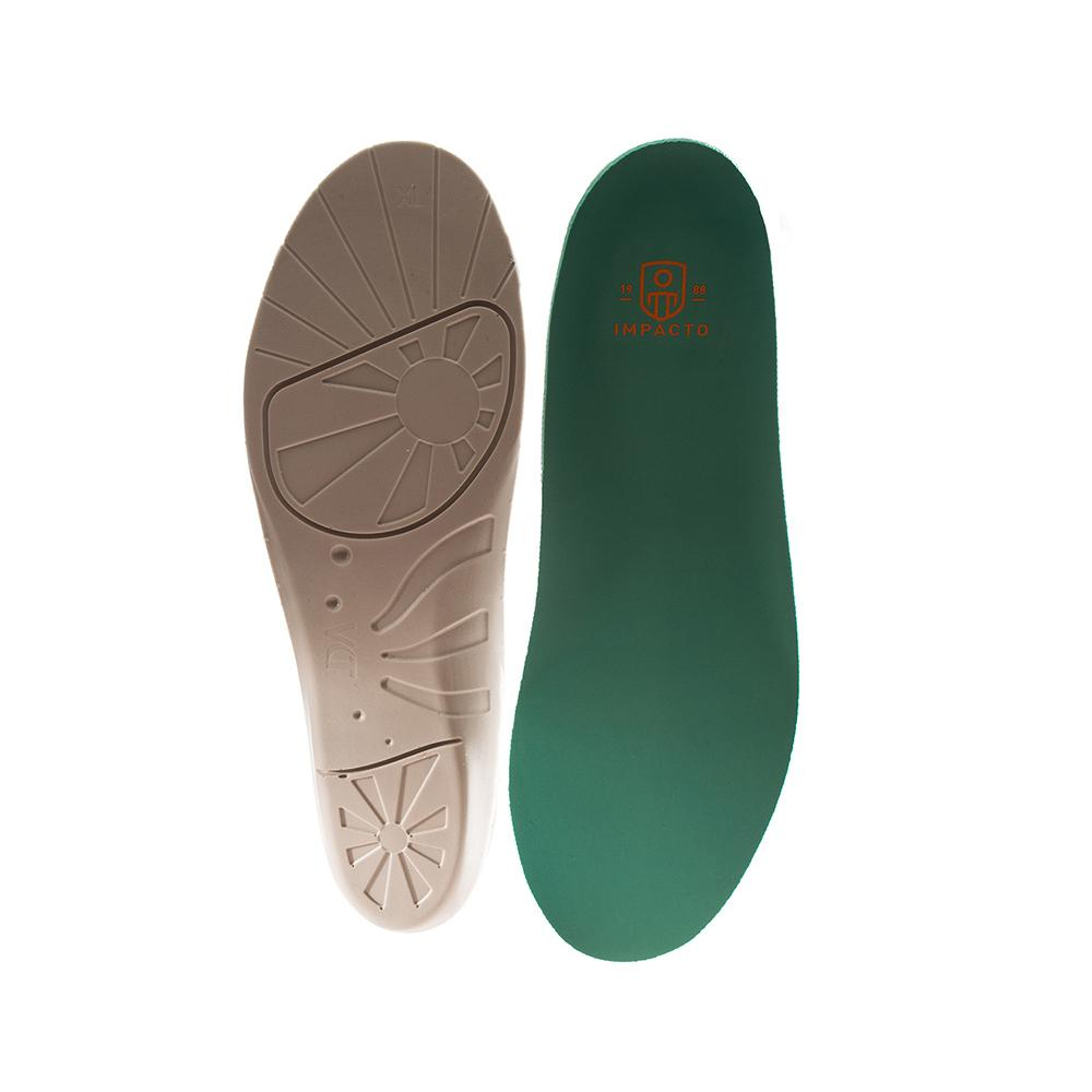 Men's 7-8.5 Women's 9-10.5 Green Anti-Fatigue Airsol Molded Insoles