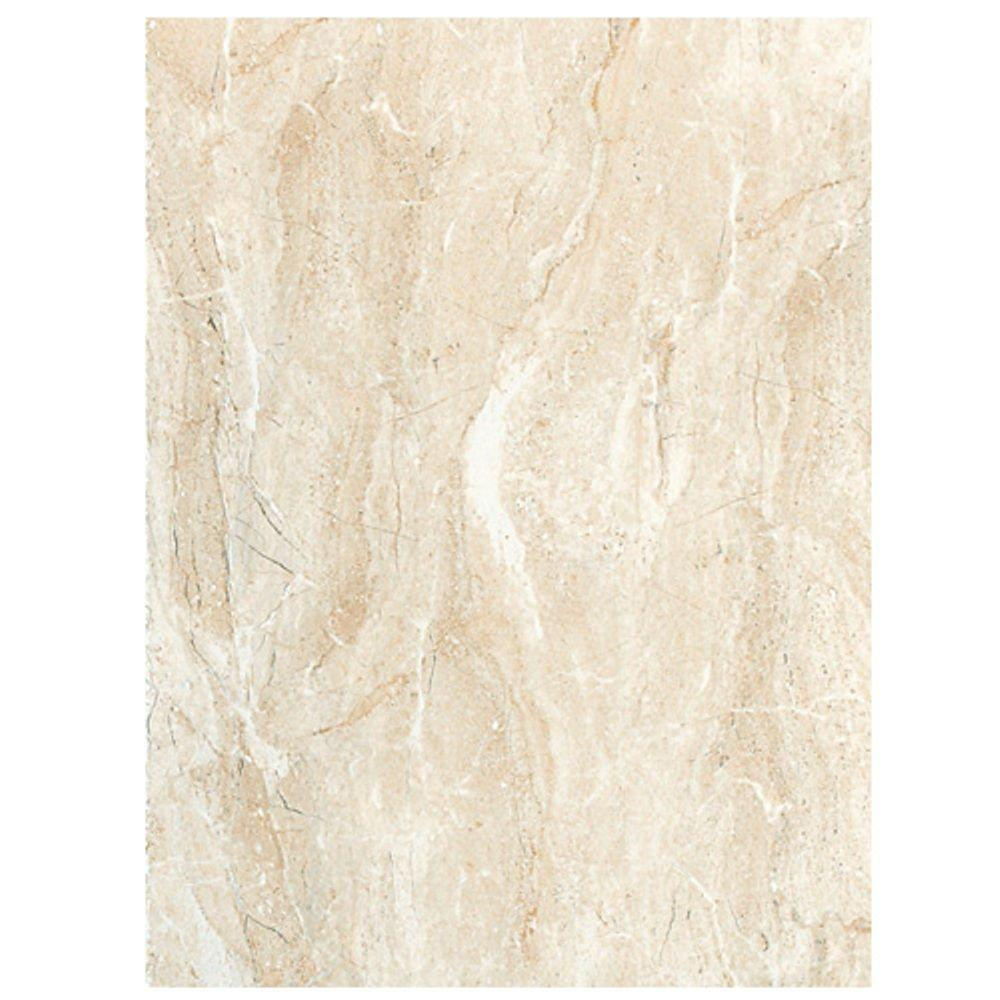Daltile campisi 9 in x 12 in alabaster porcelain floor for Fan size for 12x12 room