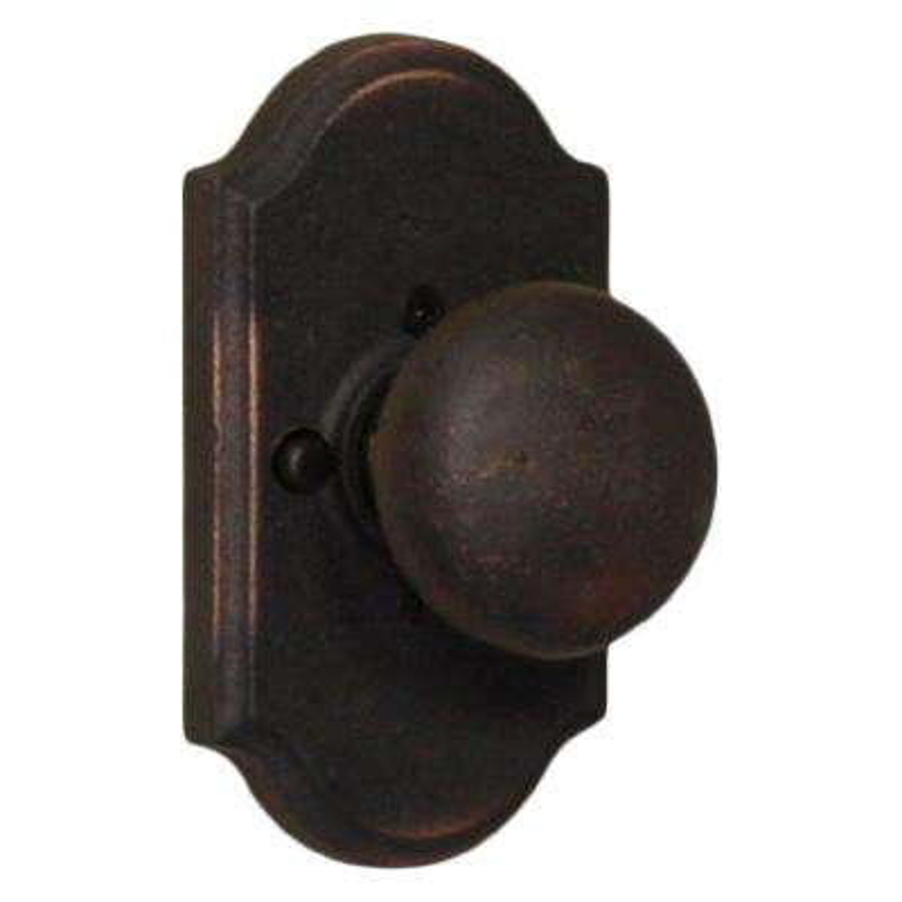 Molten Bronze Oil-Rubbed Bronze Premiere Privacy Wexford Knob