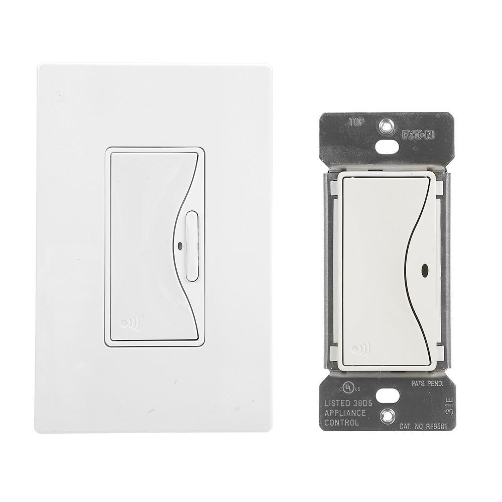 Aspire Z-Wave Anyplace Kit (RF9575AW Switch and RF9501AW Switch), Alpine White