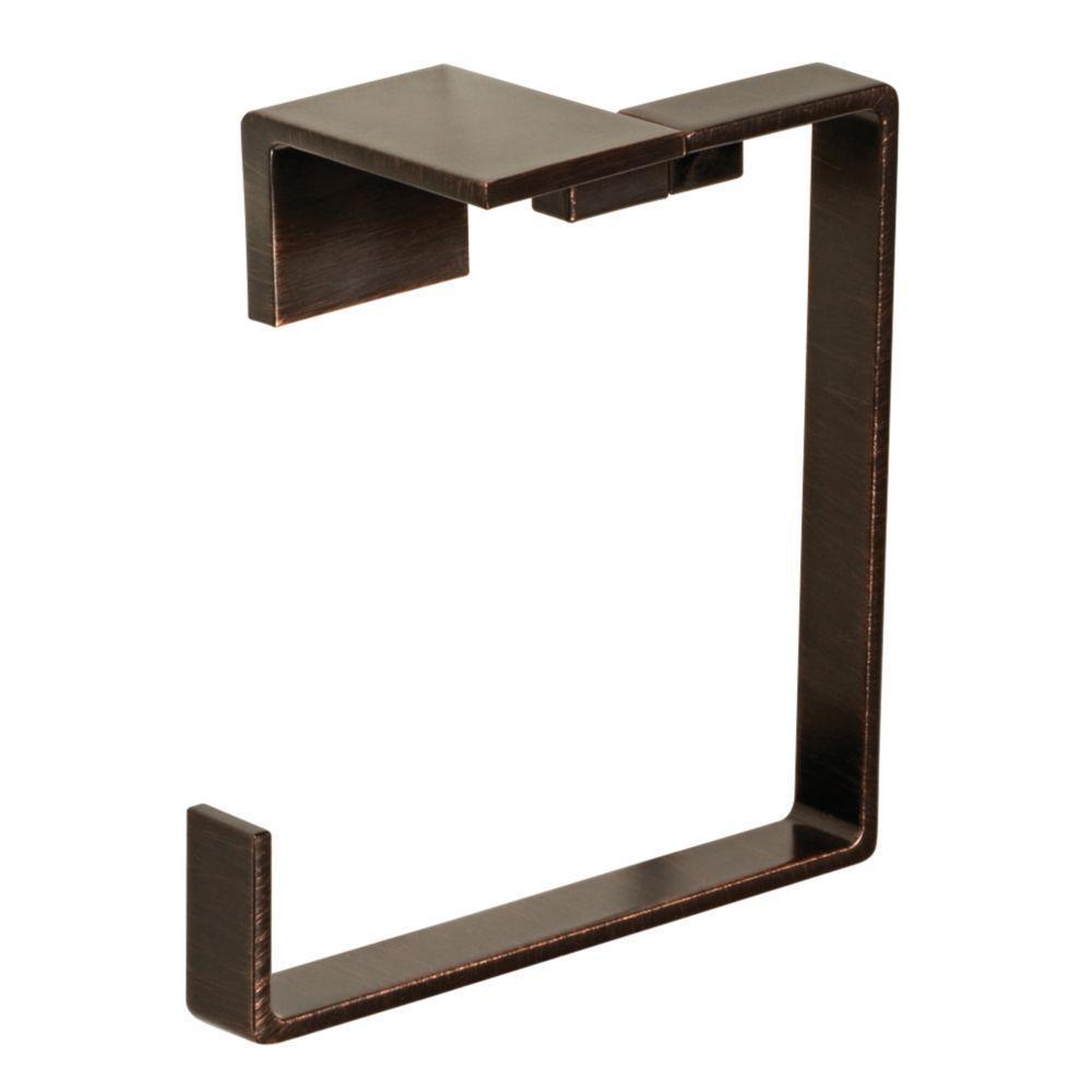 Vero Open Towel Ring in Venetian Bronze
