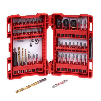 Shockwave Impact Duty Driver Steel Bit Set (50-Piece)