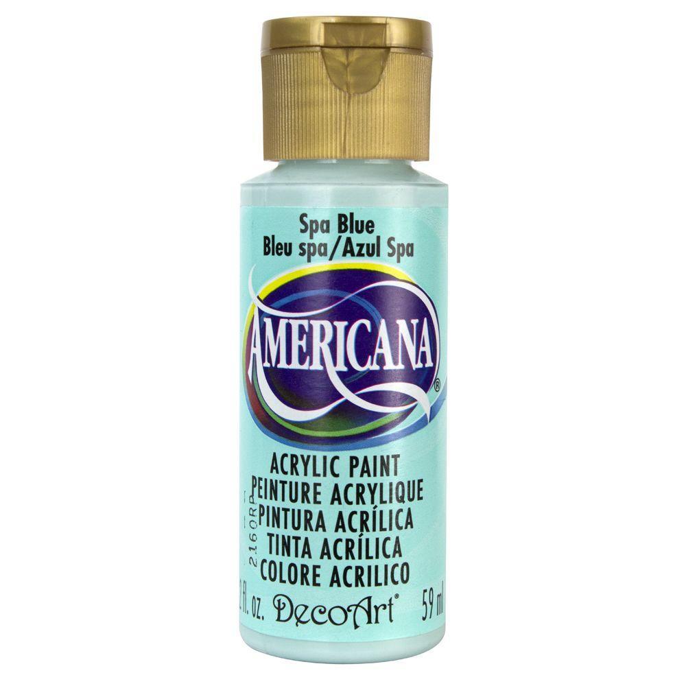DecoArt Americana 2 oz. Spa Blue Acrylic Paint