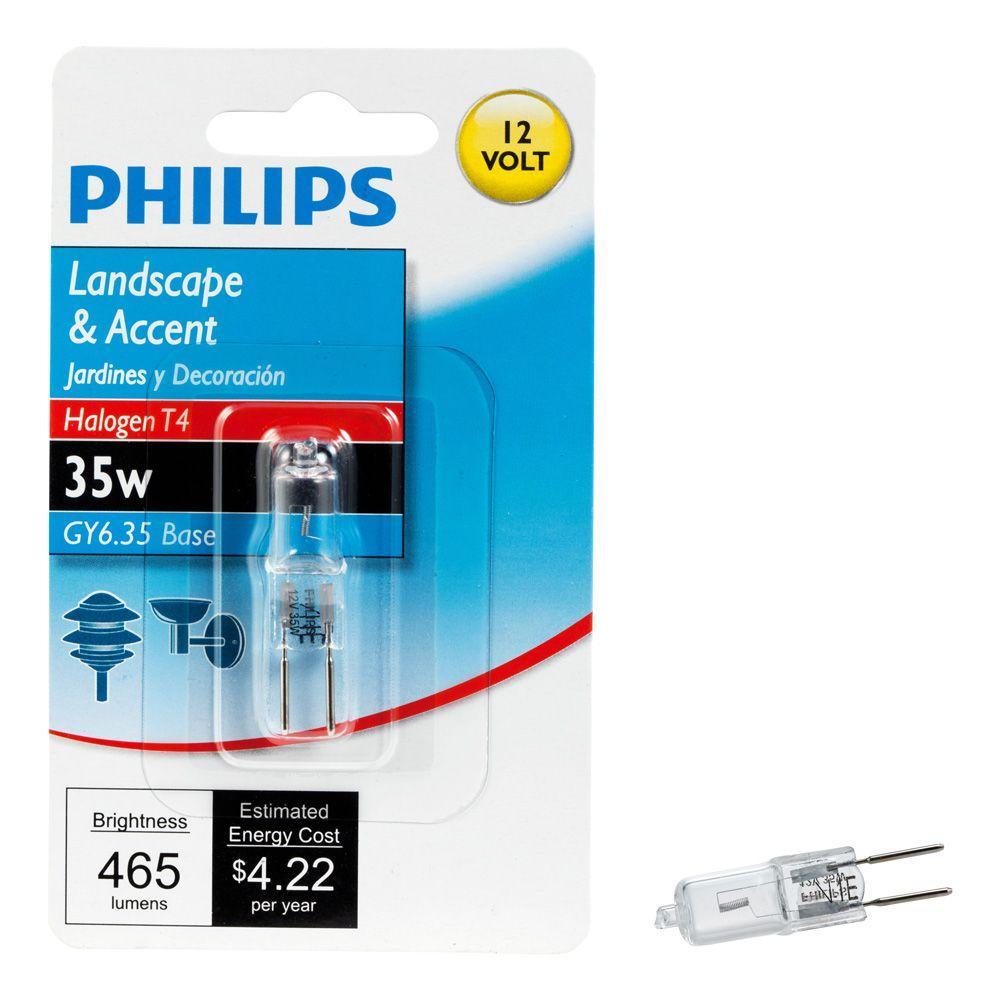 35-Watt Halogen T4 Gy6.35 12-Volt Capsule Dimmable Light Bulb