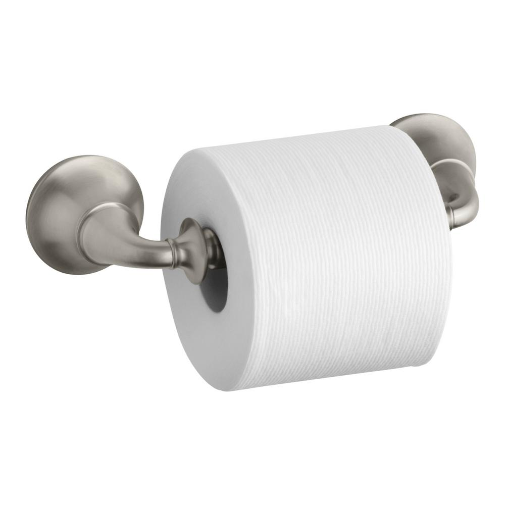 KOHLER Forte Traditional Wall-Mount Double Post Toilet Paper ...