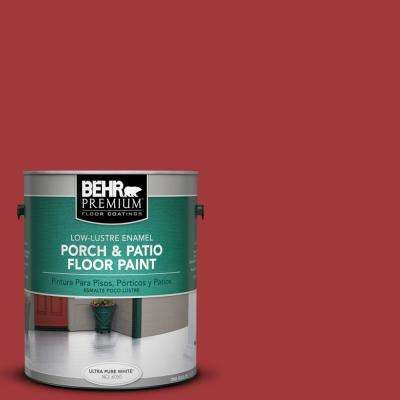 1 gal. #S-G-150 Ruby Ring Low-Lustre Porch and Patio Floor Paint