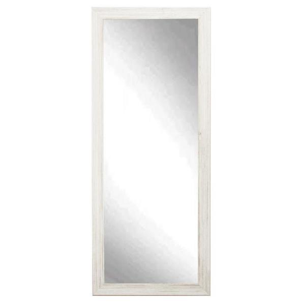 Charmant BrandtWorks New Interior 32 In. X 65 In. Weathered White Floor Mirror