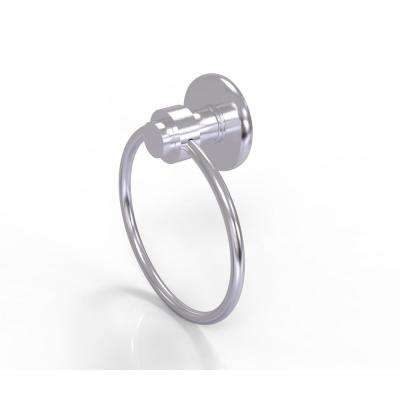Mercury Collection Towel Ring in Satin Chrome