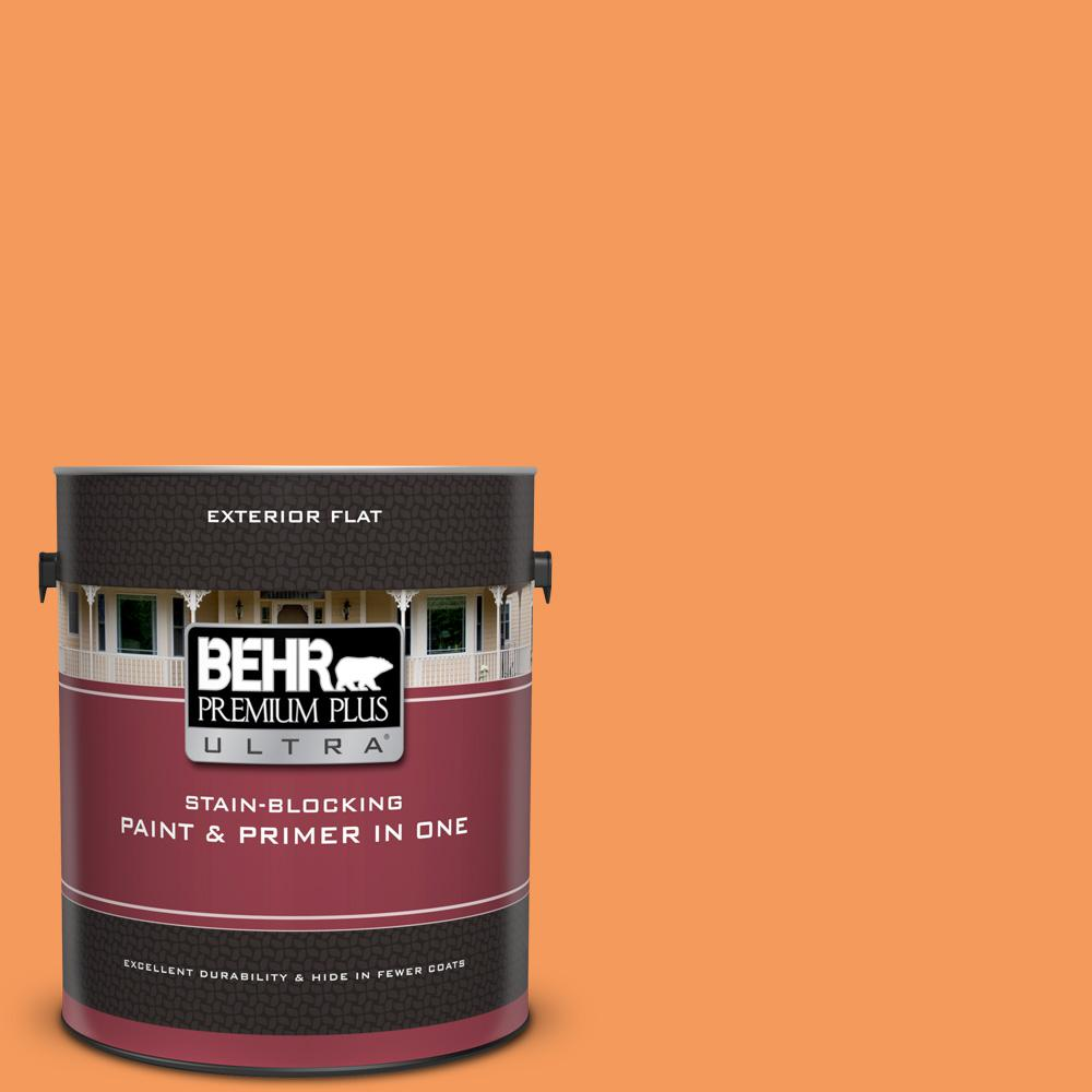 260b 6 Blaze Orange Flat Exterior Paint