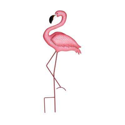 27 in. Pink Flamingo on Stick
