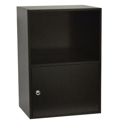 Designs2go Black Storage Cabinet