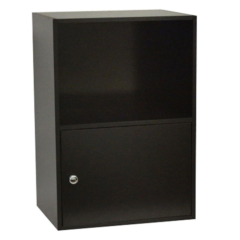 Designs2go Black Storage Cabinet