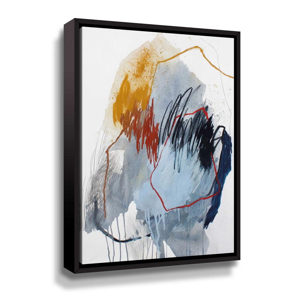 'Fall of 2016 no. 5' by Ying guo Framed Canvas Wall