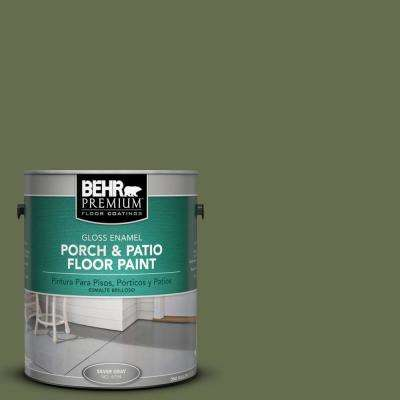 1 gal. #S380-7 Global Green Gloss Porch and Patio Floor Paint
