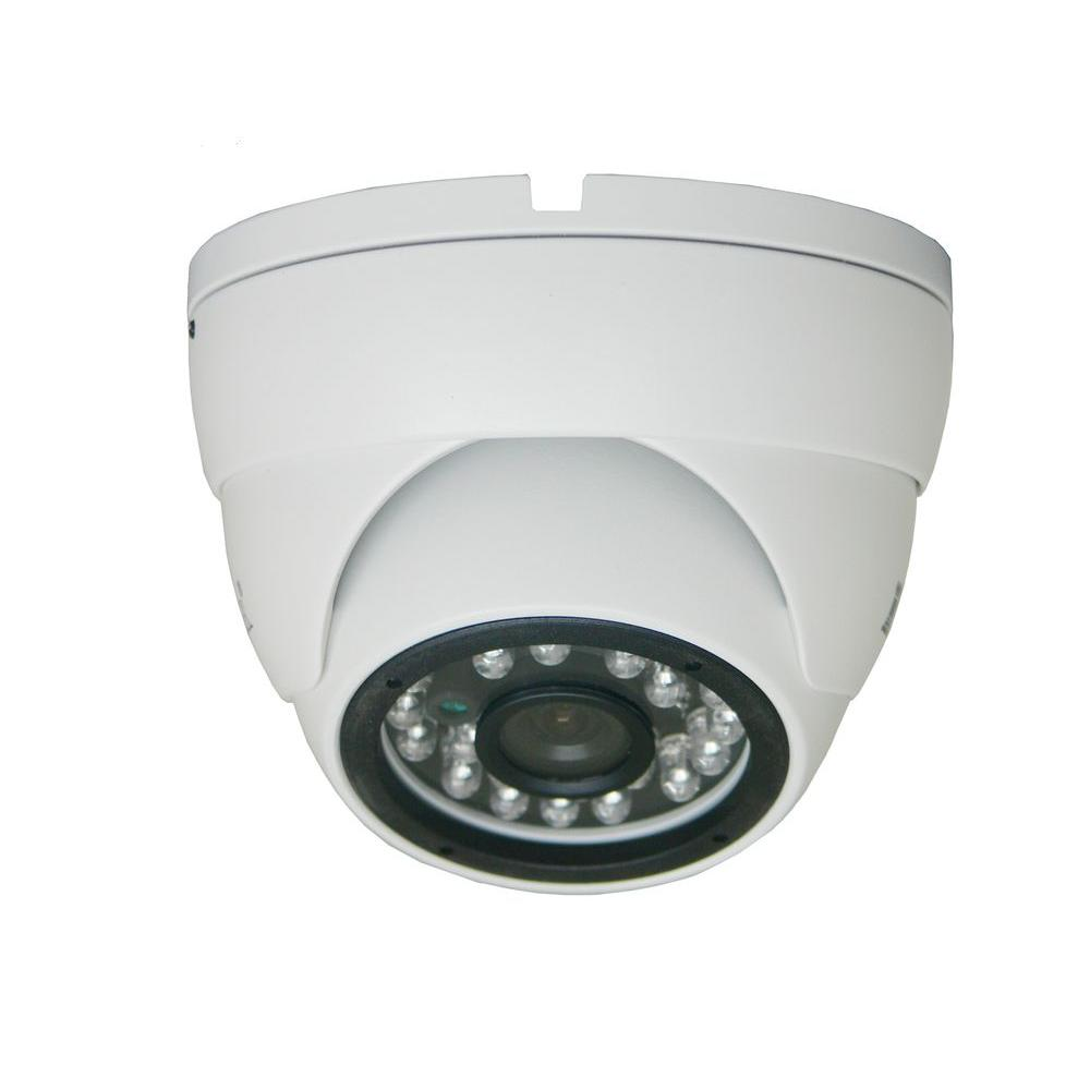 SPT Wired 550TVL 1/3 in. 3 Axis IR Dome Camera with Super...