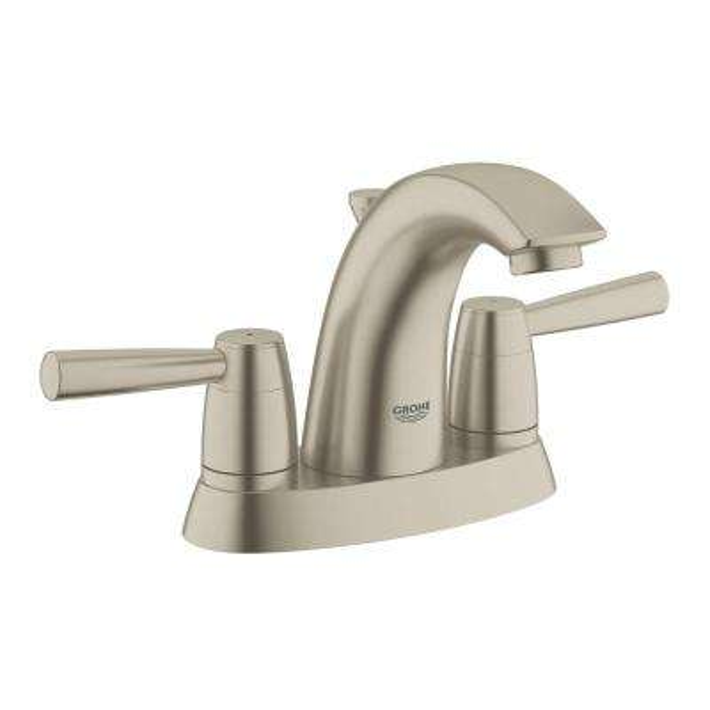 Arden 4 in. Centerset 2-Handle 1.2 GPM Bathroom Faucet in Brushed Nickel InfinityFinish