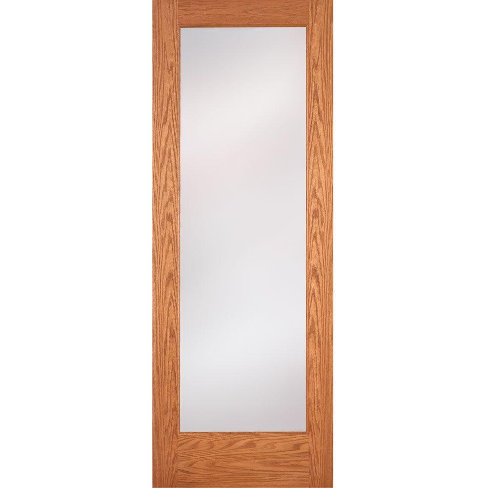 Feather river doors 28 in x 80 in 1 lite unfinished oak privacy feather river doors 28 in x 80 in 1 lite unfinished oak privacy woodgrain planetlyrics Gallery