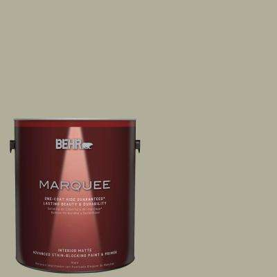 1 gal. #MQ6-27 Sage Wisdom Matte One-Coat Hide Interior Paint and Primer in One